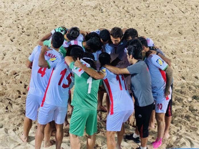 پیروزی تیم ملی فوتبال ساحلی ایران برابر مکزیک
