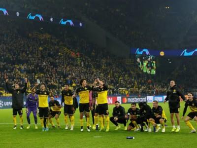 گروه F لیگ قهرمانان اروپا؛ توقف بارسلونا در خانه و کامبک دورتموند مقابل اینتر