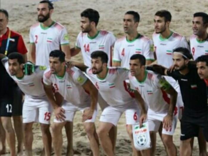 اکبری در صدر آقای گلی جام بین قارهای فوتبال ساحلی
