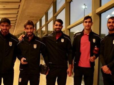تیم ملی فوتبال وارد اردن شد