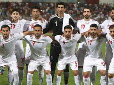 رویارویی بازیکنان تیم ملی با بازیکنان عراق