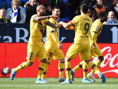 لگانس 1-2 بارسلونا