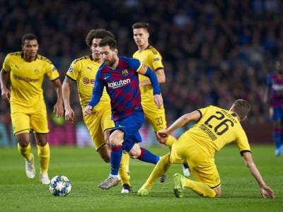 گروه F لیگ قهرمانان اروپا؛ برد آسان بارسلونا و اینتر