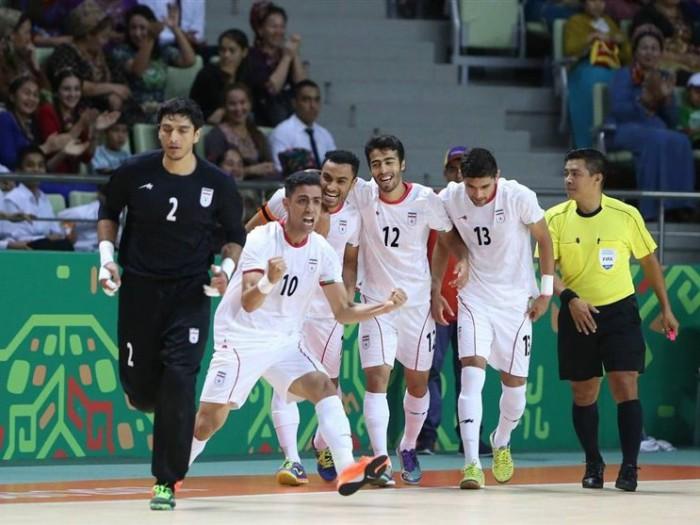 توقف پرگل تیم ملی فوتسال ایران در نخستین گام