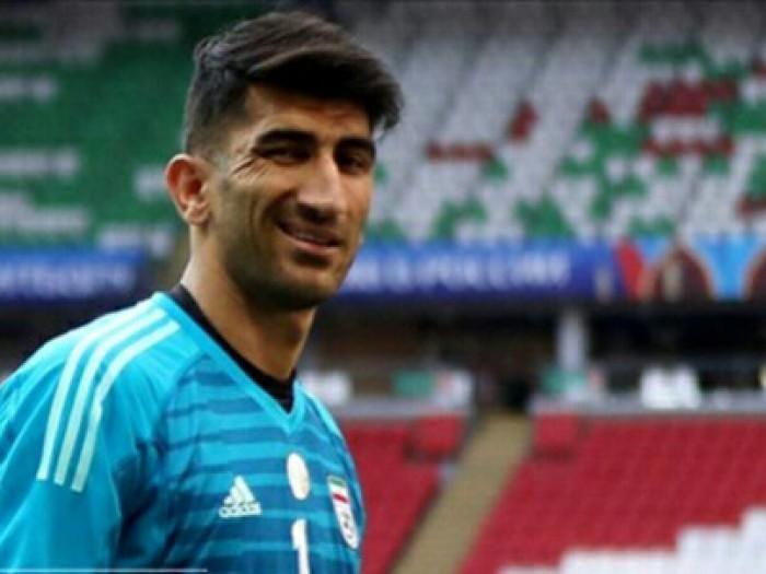 واکنش غمناک بیرانوند به عدم دریافت جایزه بهترین بازیکن آسیا
