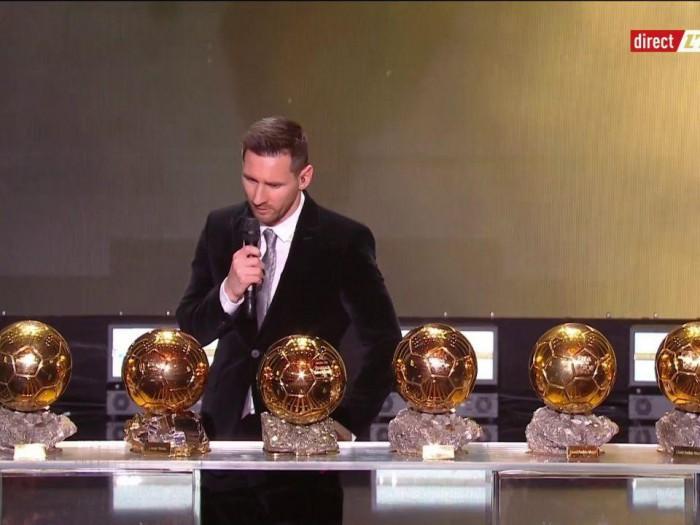 مسی؛ برنده توپ طلا 2019